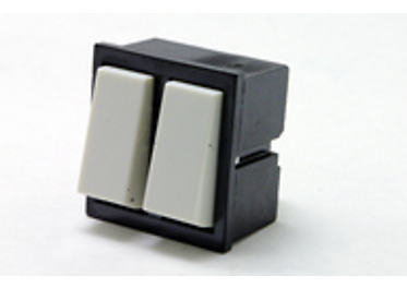 Double-pole built-in switches 3454-53635