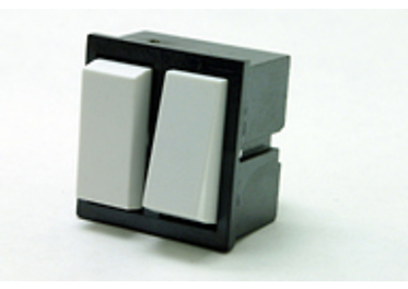 Double-pole built-in switches 3454-58635