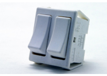 Double-pole built-in switches 3456-52619BB