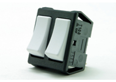 Double-pole built-in switches 3456-53619 NB